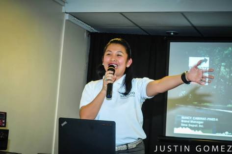 Mascy Cabuhat-Pineda, the Brand Manager of Suunto Philippines/Time Depot Inc. - Photo by Justin Gomez.